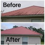 Roof Wash Cleaning